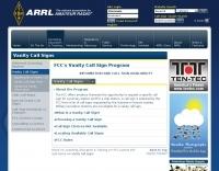 ARRL Amateur Radio Vanity Call Signs