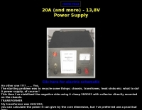 DXZone A 20 Ampere / 13,8V power supply
