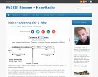 DXZone Indoor Antenna for 7 Mhz