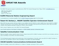 AMSAT-NA Awards