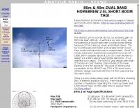 80m 2 element  Yagi antenna