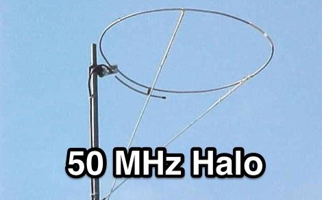 DXZone 6 meter omni halo
