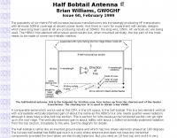 Half Bobtail Antenna