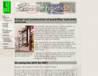 DXZone Quadrifilar helicoidal antenna