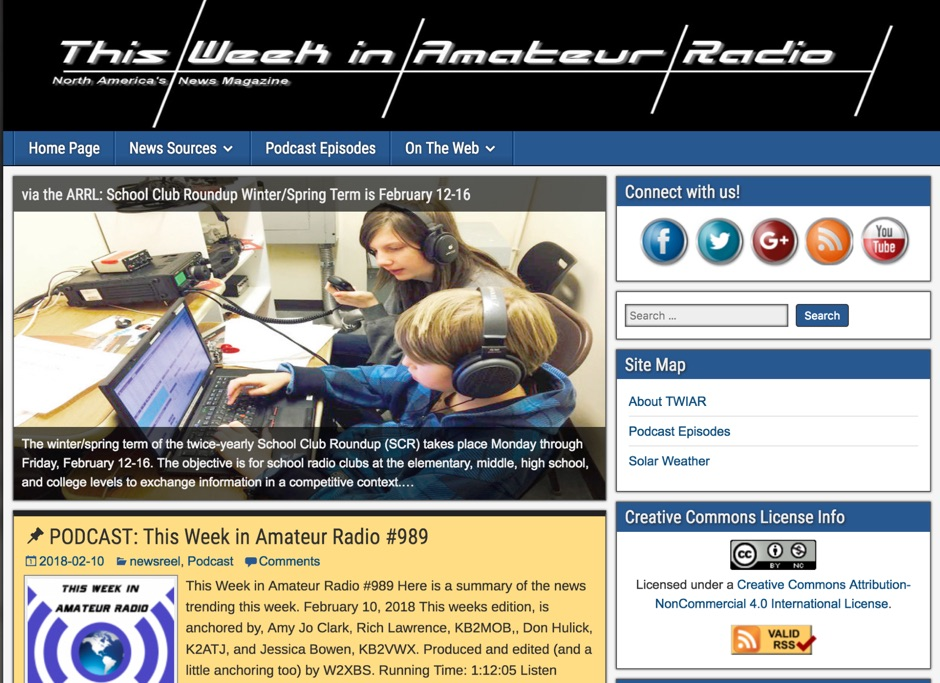 DXZone This Week in Amateur Radio