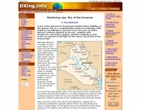 DXZone Monitoring Iraq: War of the Airwaves