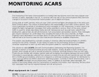 Monitoring ACARS