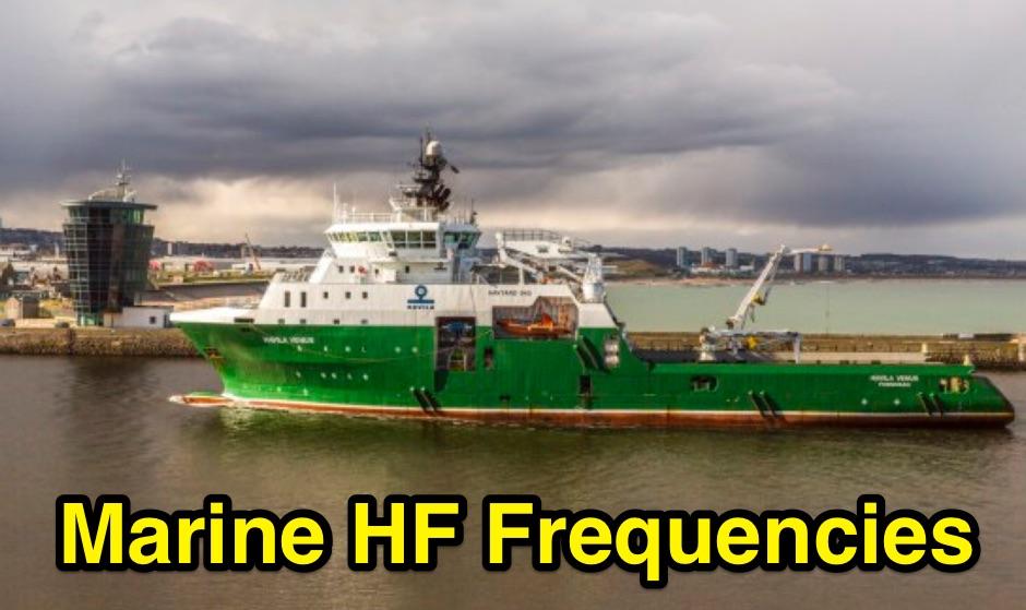 DXZone Maritime Radio Frequencies and Nets