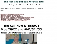 The Kite and Balloon Antenna Site