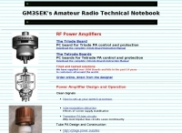 G3SEK's Amateur Radio Technical Notebook