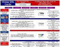 Cheap QSL'S