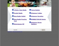 Arkansas Section Website