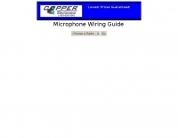 Microphone Wiring