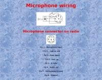 htx-100 MIC WIRING