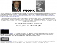 W9DMK  Software