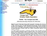 TEARA - Triangle East Amateur Radio Association