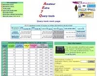 DXZone AE7Q Amateur Radio Database Query Tools
