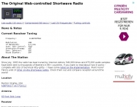 Web-controlled Shortwave Radio