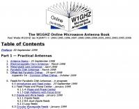 DXZone W1GHZ Microwave Antenna Book