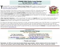 H5ANX Mk4 Delta Loop Design