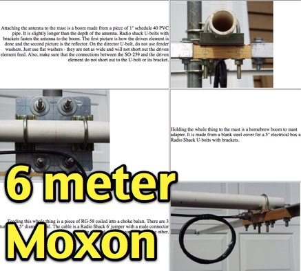 DXZone Six Meter Moxon Antenna
