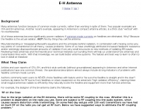 DXZone EH antennas and CFA antenna