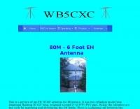 DXZone 80 Meters EH Antenna plan