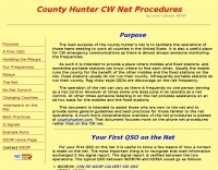 County Hunter Net Procedures