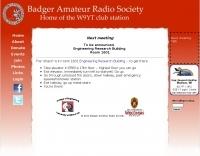 Badger Amateur Radio Society UW-Madison