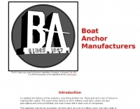 Boat Anchor Manufacturers