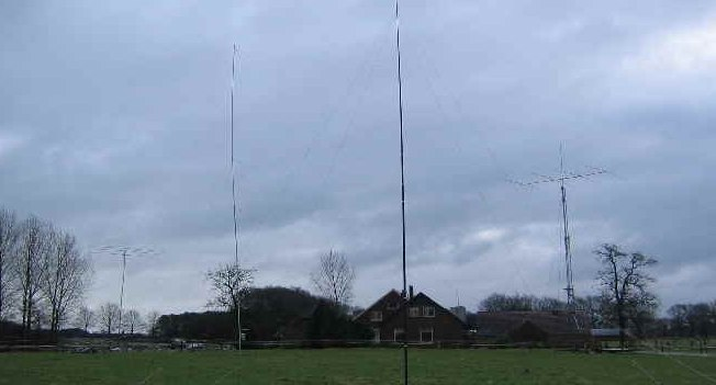 Receiving antenna for low bands