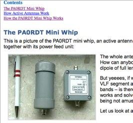 Mini Whip Antenna