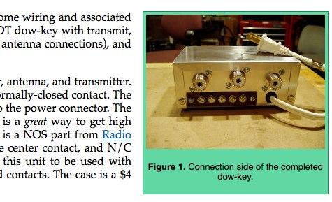 Homebrew Dow-Key