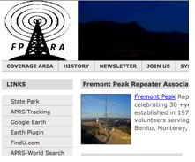 Fremont Peak Repeater Association