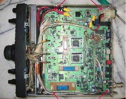 FT847 4m Power Modification