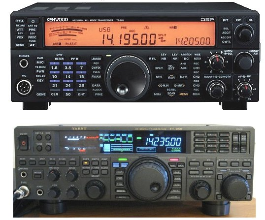 Competitive Analysis: IC-7410 TS-590S and FT-950