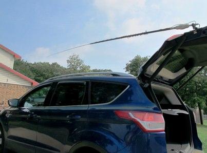 Installing amateur radio gear in a modern vehicle