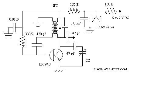 Ham Radio Beat Frequency Oscillator