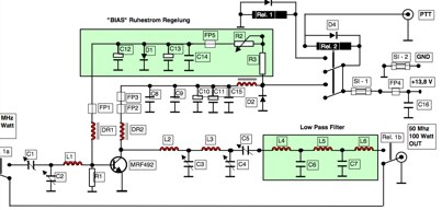 6 meter Power Amplifier
