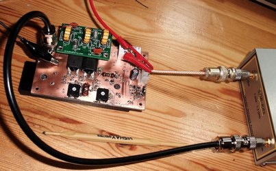 QRP 20Watt Power Amplifier