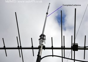 FlowerPot antenna by M0MTJ
