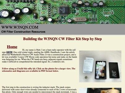 CW Filter Kit