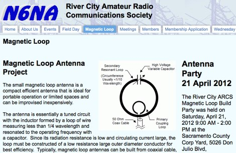 Magnetic Loop Antenna Project