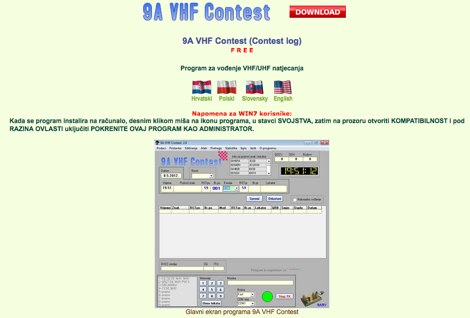 9A VHF Contest Log