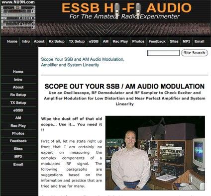 Using Oscilloscope to monitor Modulation