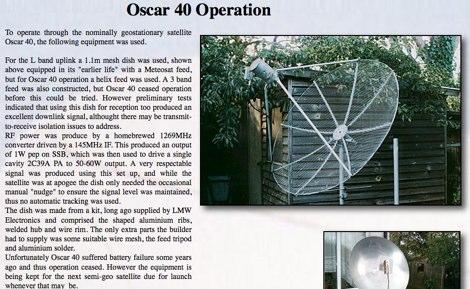 Oscar 40 operation