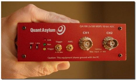 QA100 USB Oscilloscope
