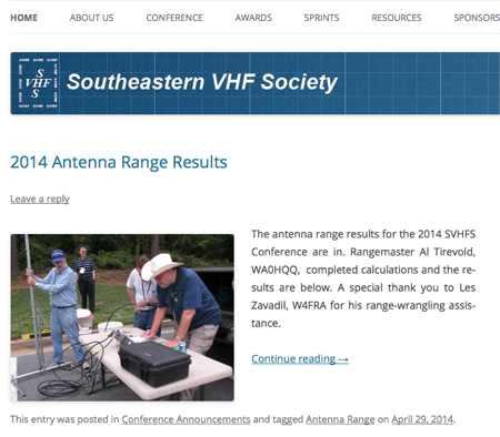 Southeastern VHF Society