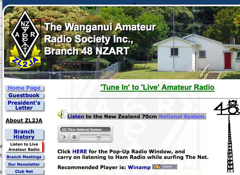 NZ 70cm National System Live
