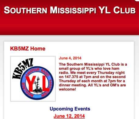 KB5MZ Southern Mississippi YL Club